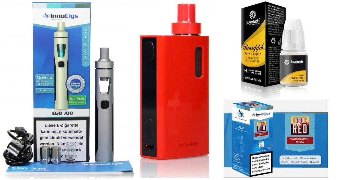 Liquids mit Nikotin inder Schweiz
